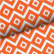 Vandoros - Hydra Aegean Orange & White Wrapping Paper