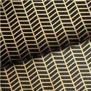 Vandoros - Metropolis Noir Black & Gold Wrapping Paper