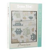 Bubba Blue - Mod The Owl Cot Sheet Set 3pce