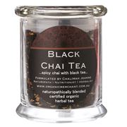 Organic Merchant - Black Chai Tea Jar
