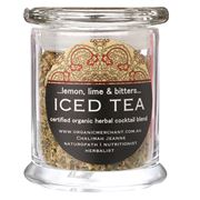 Organic Merchant - Lemon Lime & Bitters Iced Tea Jar