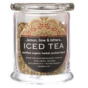Organic Merchant - Lemon Lime & Bitters Iced Tea Jar