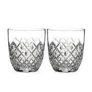 Waterford - Essentially Lissadel Double Old Fashion Set 2pce