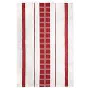Ogilvies Designs - Cubix Tea Towel Red