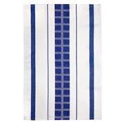 Ogilvies Designs - Cubix Blue Tea Towel