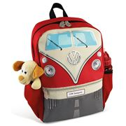 VW Collection - Kombi Red Backpack