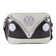 VW Collection - VW Camper Van Brown Landscape Shoulder Bag