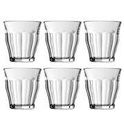 Duralex - Picardie Tumbler Clear 310ml Set 6pce
