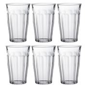 Duralex - Picardie Highball Tumbler 360ml Set 6pce