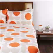 Orla Kiely - Big Spot Shadow Clay Queen Quilt Cover Set