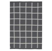 St Albans - Wool Knit Ash Throw Rug