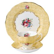 Royal Albert - 100 Years 1990s Bouquet Teacup/Saucer/Plate
