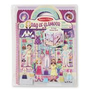 Melissa & Doug - Day Of Glamour Resusable Sticker Book