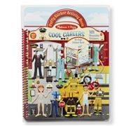 Melissa & Doug - Cool Careers Resusable Sticker Book