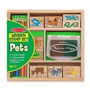 Melissa & Doug - Pets Stamp Set