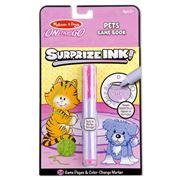 Melissa & Doug - Surpize Ink! Pets Colouring Pad