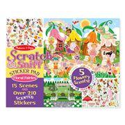 Melissa & Doug - Scratch & Sniff Floral Fairies