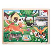 Melissa & Doug - Pets At Play Jigsaw Puzzle 24pce