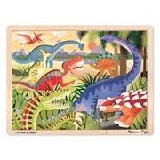 Melissa & Doug - Dinosaurs Jigsaw Puzzle 24pce