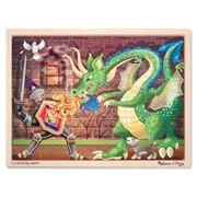 Melissa & Doug - Knight & Dragon Jigsaw Puzzle 48pce