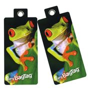 MyBagTag - Frog Luggage Tag Set 2pce