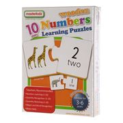 Master Kidz - Wooden Numbers Learning Puzzle 20pce