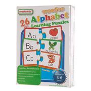 Master Kidz - Wooden Alphabet Learning Puzzle 52pce