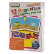Master Kidz - Wooden Opposites Learning Puzzle 24pce