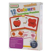Master Kidz - Wooden Colours Learning Puzzle 24pce