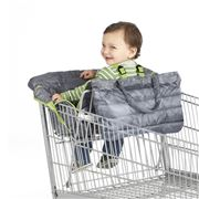 Nuby Travel - Grey Shopping Cart & High Chair Cover