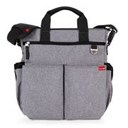 SkipHop - Duo Signature Heather Grey Diaper Bag