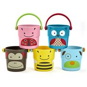 SkipHop - Zoo Stack & Pour Bucket Set 5pce