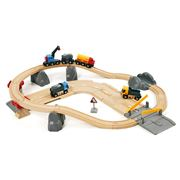Brio - Rail & Road Quarry Set 32pce
