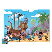 Crocodile Creek - Pirate Jigsaw Puzzle 48pce