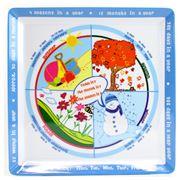 Education On A Plate - Seasons Plate