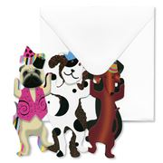 Special Delivery Cards - Party Dogs Fold-Out Card