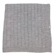 DLUX Baby - Pip Wool Grey Baby Bassinet Blanket