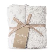 Sheridan - Baby Mysie Honey Grey Muslin Wrap Set 2pce