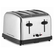 Russell Hobbs - Classic Brushed Four Slicer Toaster
