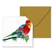 Claudia Rossi - Rosella Printed Greeting Card