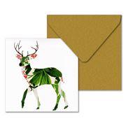 Claudia Rossi - Deer Printed Greeting Card
