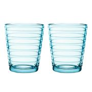 iittala - Aino Aalto Light Blue Small Tumbler Set 2pce