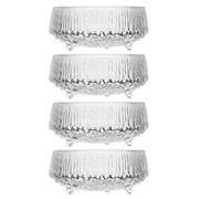 iittala - Ultima Thule Bowl Set 4pce