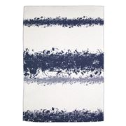David Fussenegger - Navy Blurred Spots Blanket