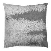 David Fussenegger - Grey Hourglass Deco Cushion