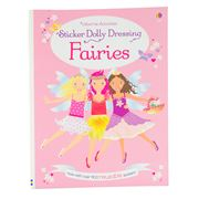 Book - Sticker Dolly Dressing Fairies