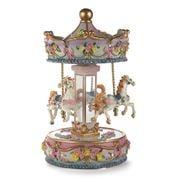 StyleSetter - Pink & White Musical Carousel