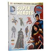 Book - DC Comics: Super Heroes Ultimate Sticker Collection