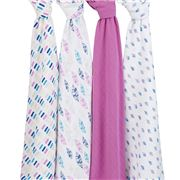 Aden and Anais - Wink Classic Swaddle Set 4pce