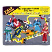 Felt Creations - Race Cars